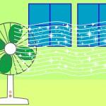 窓と扇風機の位置関係は?適切な位置・向きとそれでも駄目な時の裏ワザ
